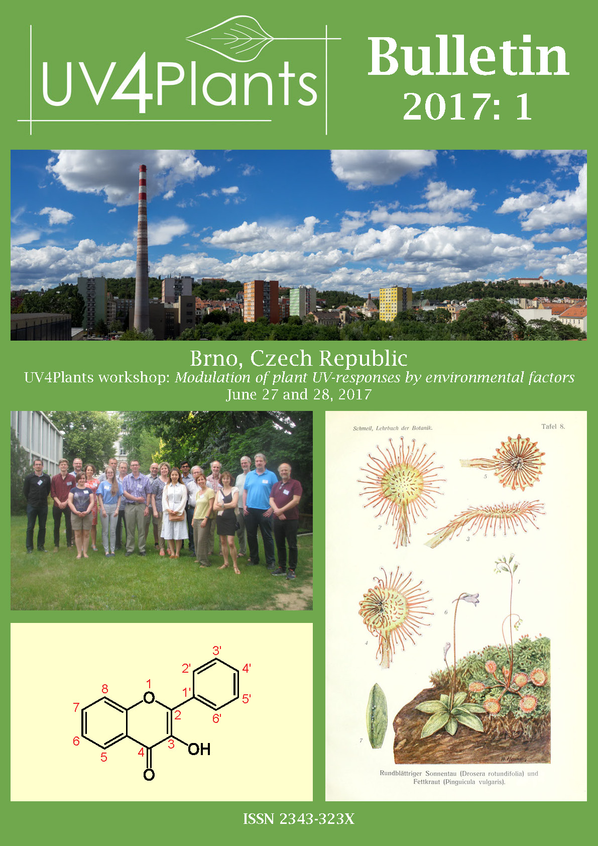 Cover of UV4Plants Bulletin 2017:1