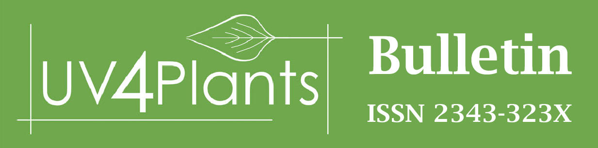 UV4Plants Bulletin logo